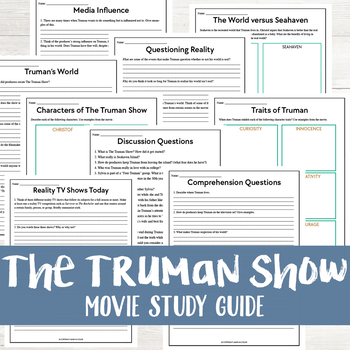 How To Start A Business Essay The Truman Show Movie Study The Truman Show Movie Study How To Write A Essay Proposal also Short English Essays The Truman Show Movie Questions Teaching Resources  Teachers Pay  Descriptive Essay Thesis