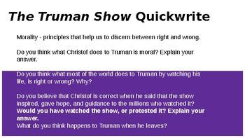 The Truman Show Themes Slideshow