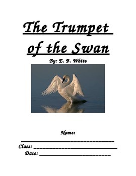 The Trumpet of the Swan Guided Reading Packet
