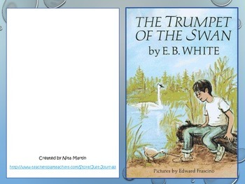 The Trumpet of the Swan Literature Study Journal