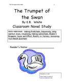 The Trumpet of the Swan Novel Study