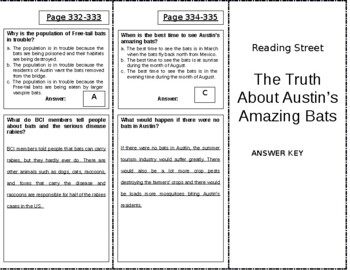 The Truth About Austin's Amazing Bats - 5th Grade Reading Street