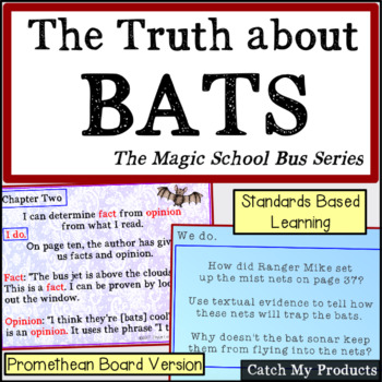 The Truth About Bats:Magic School Bus Reading Lessons Prom