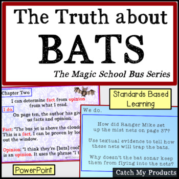 The Truth About Bats : The Magic School Bus Reading Lessons Power Point