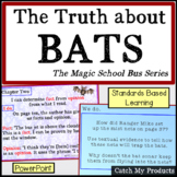 The Truth About Bats The Magic School Bus Reading Lessons