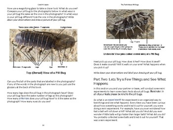 The Truth About Pill Bugs. A Course on the Elements of Experimental Design.