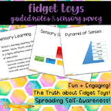 The Truth about Fidget Toys: Guided Notes & Sensory Survey