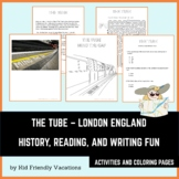 The Tube - London England - History, Facts, Coloring Pages