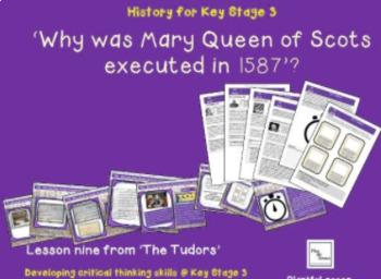The Tudors: Lesson 9 Why was Mary Queen of Scots executed in 1587?