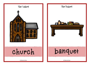 The Tudors Picture Cards