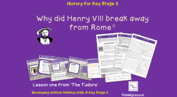 The Tudors: 'Why did Henry VIII break away from Rome?'