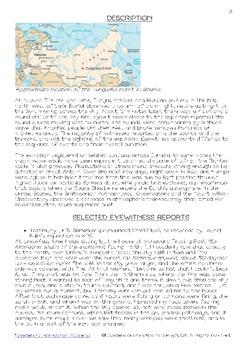 The Tunguska Event Unit Study