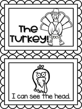 Emergent Reader The Turkey