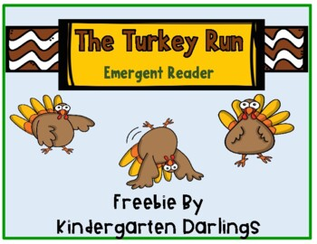 The Turkey Run -- easy reader freebie