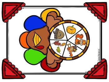 The Turkey That Wasn't Thankful Vocabulary Activities