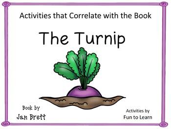 The Turnip   by Jan Brett  35 pgs. Common Core Activities