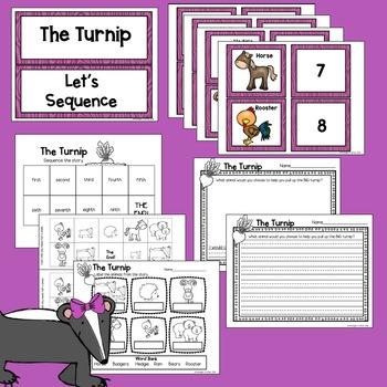 The Turnip by Jan Brett Book Companion