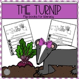 The Turnip by Jan Brett Flip Books for Sequencing and Story Elements