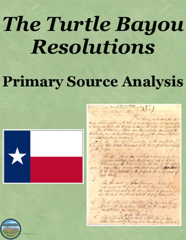 The Turtle Bayou Resolutions Primary Source Analysis