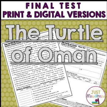 The Turtle of Oman Final Test