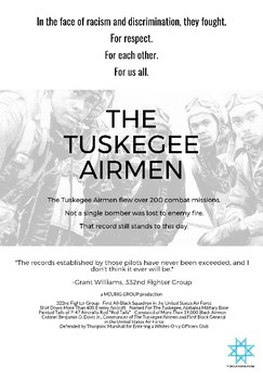 The Tuskegee Airmen Mini Poster