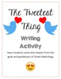 Love Tweets from Gods of Greek Mythology - Activity - E. Hamilton