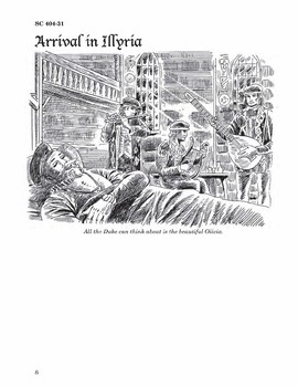 Twelfth Night eBook 10 Chapter Reader