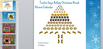 The Twelve Days Before Christmas Advent Reading Calendar