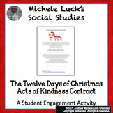 The Twelve Days of Christmas Acts of Kindness Contract