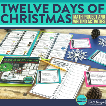 Twelve Days of Christmas {CHRISTMAS MATH & WRITING}
