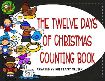 Twelve Days Of Christmas Book.The Twelve Days Of Christmas Counting Book
