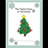 The Twelve Days of Christmas Kindergarten Math Workbook