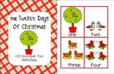 The Twelve Days of Christmas - Math Pack