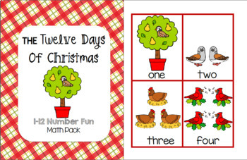 The Twelve Days of Christmas - Math Pack