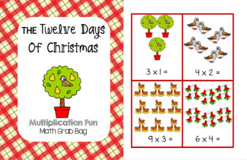 The Twelve Days of Christmas - Multiplication Fun Grab Bag