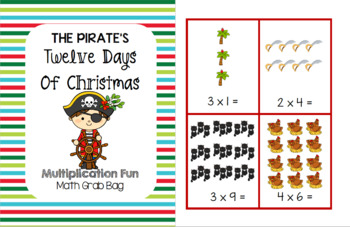 The Twelve Days of Christmas - Multiplication Fun Grab Bag