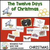 The Twelve Days of Christmas Posters, Readers, Coloring, Performance idea