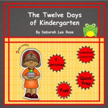 The Twelve Days of Kindergarten:  6 Easy Prep Literacy Centers