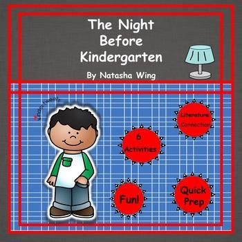 The Night Before Kindergarten:  6 Easy Prep Literacy Centers