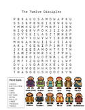 The Twelve Disciples Word Search