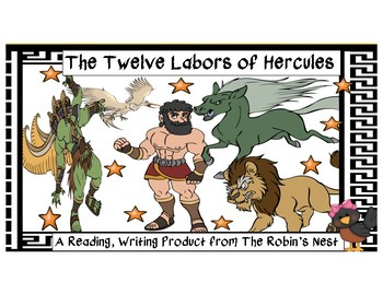 The Twelve Labors of Hercules with Comprehension Questions!