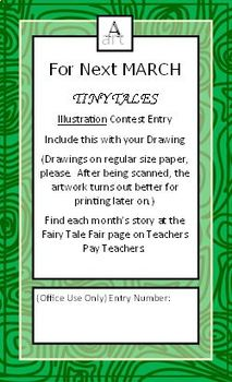 The Twelve Months - Fairy Tale 3x5 Book to Build