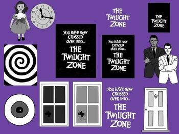 The Twilight Zone Inspired Clip Art