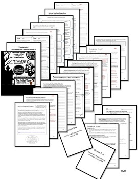 The twilight zone the masks literacy worksheets writing rubric the twilight zone the masks literacy worksheets writing rubric discussion toneelgroepblik Image collections