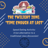 """The Twilight Zone """"Time Enough At Last"""" Speed Dating Analy"""