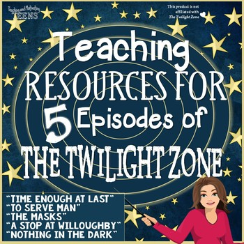 The Twilight Zone Lessons Bundle of 5 Episodes ELA Middle