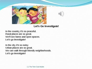 2.1.1 The Twin Club Reading Street 2nd Grade Unit  1 Week 1 Power Point