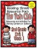 The Twin Club Reading Street Resource Pack 2nd Grade Unit