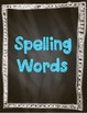 The Twin Club Spelling, High Frequency, and Amazing Word Cards