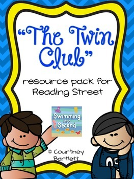 """""""The Twin Club"""" (resources for Reading Street)"""